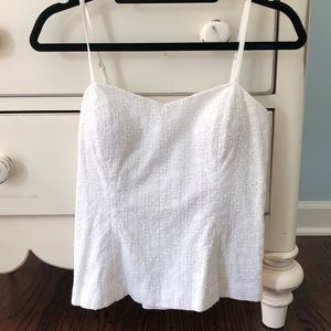 White Lilly Pulitzer tank top